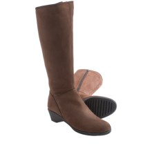 The Flexx Night Walker Tall Boots - Nubuck (For Women) in Ebony - Closeouts