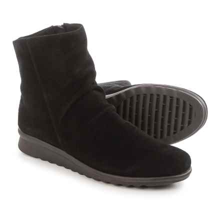 The Flexx Pan Fried Ankle Boots - Suede (For Women) in Black Suede - Closeouts