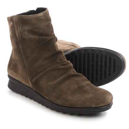 The Flexx Pan Fried Ankle Boots - Suede (For Women) in Petra Suede - Closeouts