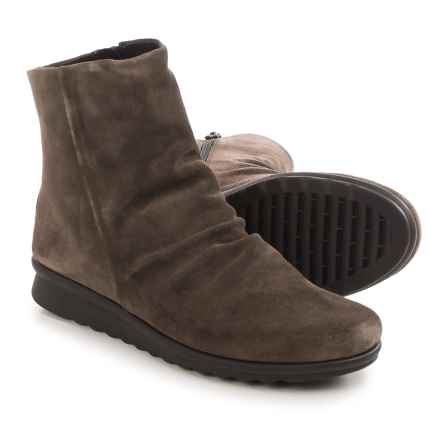 The Flexx Pan Fried Ankle Boots - Suede (For Women) in Smoke Suede - Closeouts