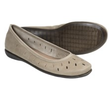 The Flexx Passion Fruit Ballet Flats (For Women) in Jute Nubuck - Closeouts