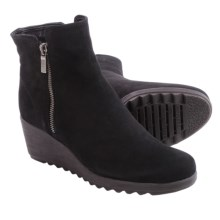 The Flexx Pic A Winner Boots - Nubuck, Wedge Heel (For Women) in Black - Closeouts