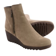 The Flexx Pic A Winner Boots - Nubuck, Wedge Heel (For Women) in Desert - Closeouts