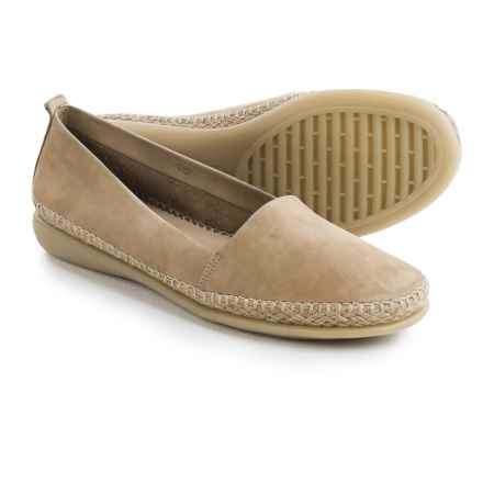 The Flexx Rapid Espadrille Flats - Leather (For Women) in Corda Nubuck - Closeouts