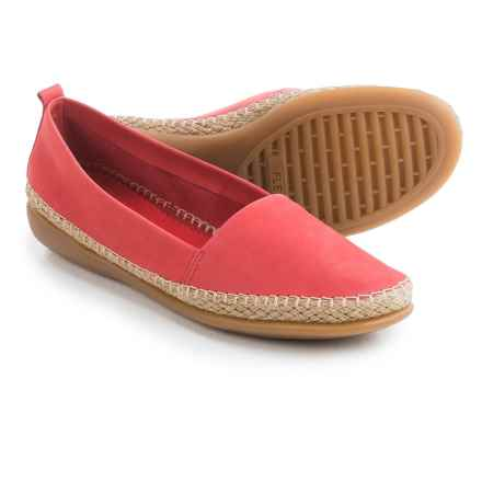 The Flexx Rapid Espadrille Flats - Leather (For Women) in Marlboro Nubuck - Closeouts