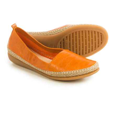 The Flexx Rapid Espadrille Flats - Leather (For Women) in Navajo Skipper - Closeouts
