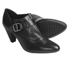 The Flexx Reign Drop Heels - Leather (For Women) in Black Cashmere - Closeouts