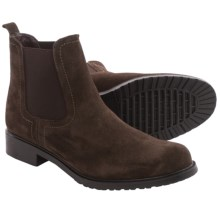 The Flexx Shetland Chelsea Boots - Suede (For Women) in Ebony Suede - Closeouts