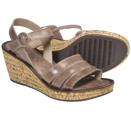 The Flexx Step It Up Wedge Sandals (For Women) in Black