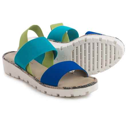The Flexx Sun Stretch Too Sandals (For Women) in Bluette Mix Elastic - Closeouts
