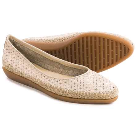The Flexx Torri Shoes - Leather, Slip-Ons (For Women) in Corda Guanto Stella - Closeouts