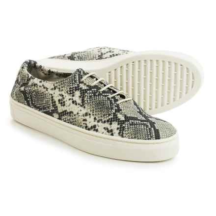 The Flexx What a Sneak Sneakers - Leather (For Women) in Roccia Calcutta - Closeouts