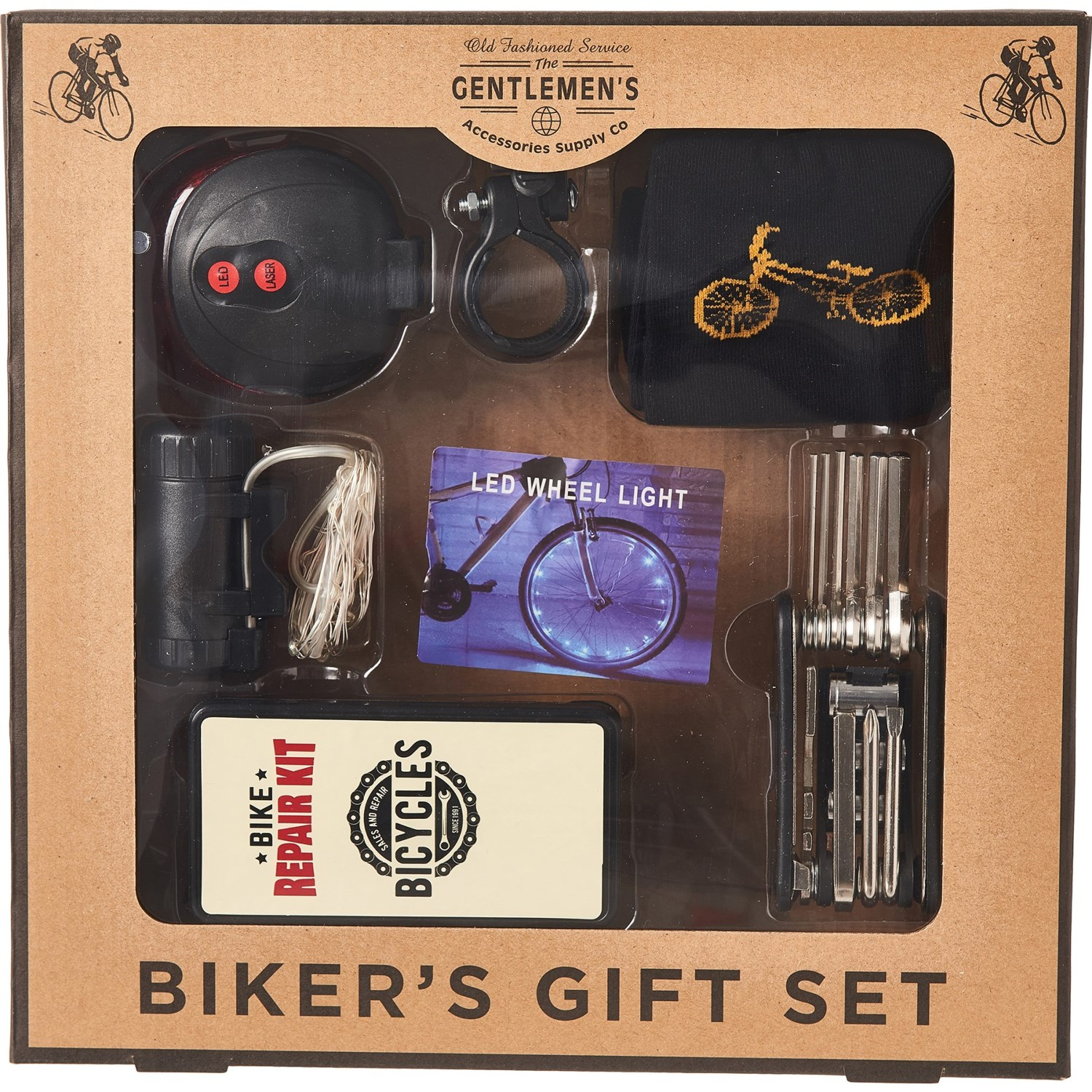 Accessories Supply Co. Biker's Gift Set