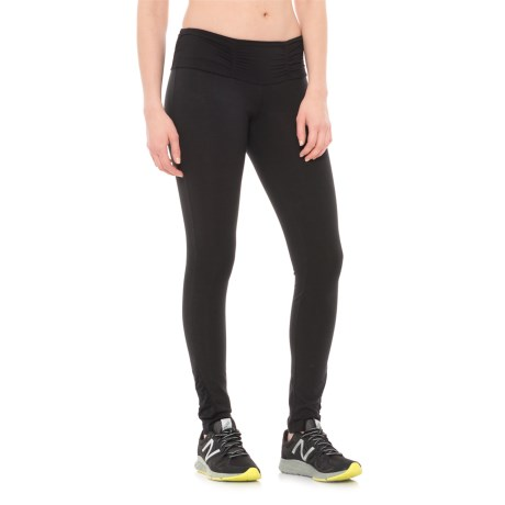 The Girls Tummy Control Capris (For Women) in Black