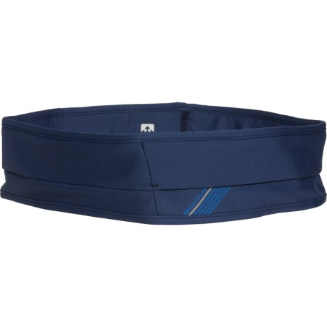 The Hipster Running Waistbelt - DARK DENIM (XL )