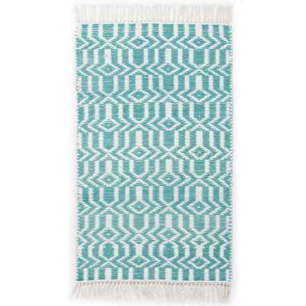 "The Home Company Vogue Athena Accent Rug - 27x45"" in Ether - Closeouts"