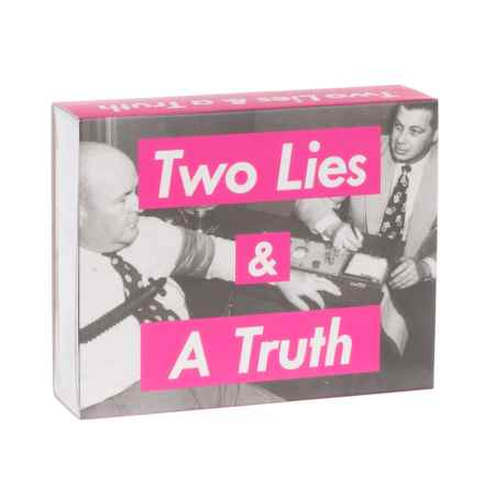 The Imagineering Company Two Lies and a Truth Card Game in See Photo - Closeouts
