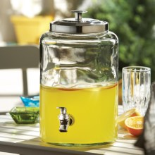 The Jay Companies Jacksonville Beverage Dispenser - 1.6 Gal. in Clear - Overstock