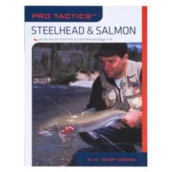 The Lyons Press Pro Tactics: Steelhead & Salmon Book in See Photo