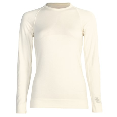 The Mobile Society Angora Base Layer Top - Long Sleeve (For Women) in Off White