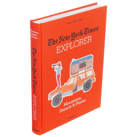 The New York Times Explorer: Mountains, Deserts and Plains Book in See Photo
