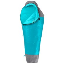 The North Face 20°F Cat's Meow Sleeping Bag - Mummy, Long (For Women) in Capri Breeze Blue/Zinc Grey - Closeouts