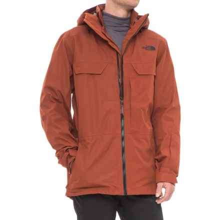 The North Face 3L Triclimate® Jacket - Waterproof, Insulated (For Men) in Brandy Brown - Closeouts