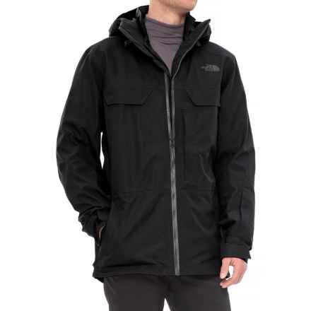 The North Face 3L Triclimate® Jacket - Waterproof, Insulated (For Men) in Tnf Black - Closeouts