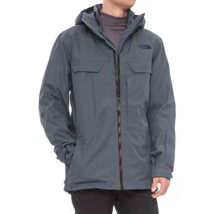 The North Face 3L Triclimate® Jacket - Waterproof, Insulated (For Men) in Turbulence Grey - Closeouts