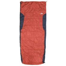 The North Face 40°F Dolomite 2S Sleeping Bag - Long, Rectangular in Rhumba Orange - Closeouts