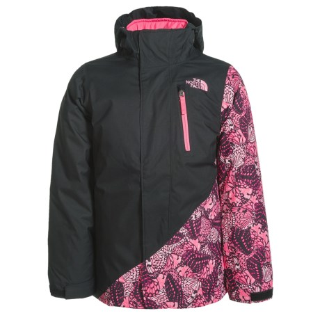 The North Face Abbey Triclimate® 3-in-1 Jacket - Waterproof, Insulated (For Little and Big Girls) in Tnf Black