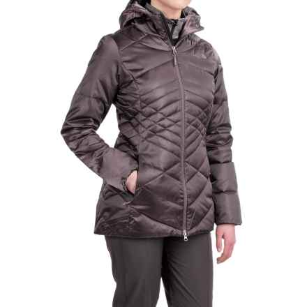 The North Face Aconcagua Down Hooded Parka - 550 Fill Power (For Women) in Rabbit Grey - Closeouts