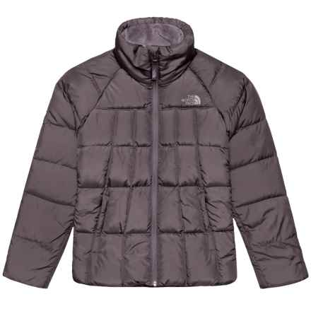 The North Face Aconcagua Down Jacket - 550 Fill Power (For Big Girls) in Rabbit Grey - Closeouts