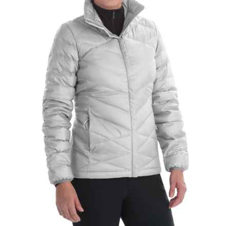 The North Face Aconcagua Down Jacket - 550 Fill Power (For Women) in High Rise Grey - Closeouts