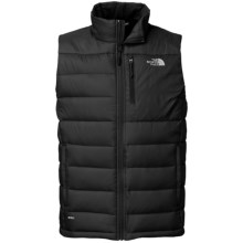 The North Face Aconcagua Down Vest - 550 Fill Power (For Men) in Tnf Black - Closeouts