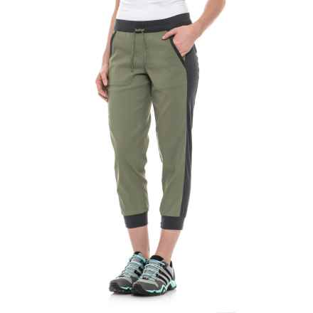 The North Face Adventuress Capris (For Women) in Deep Lichen Green - Closeouts