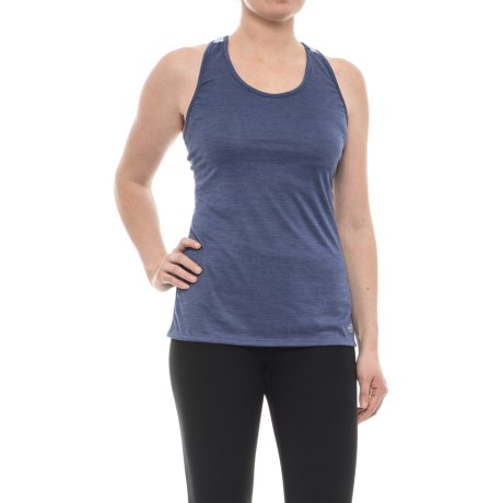 The North Face Adventuress Tank Top - Racerback (For Women) in Coastal Fjord Blue Heather