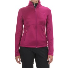 The North Face Agave Fleece Jacket (For Women) in Fuchsia Pink Heather/Asphalt Grey - Closeouts