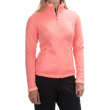 The North Face Agave Fleece Jacket (For Women) in Neon Peach Heather - Closeouts