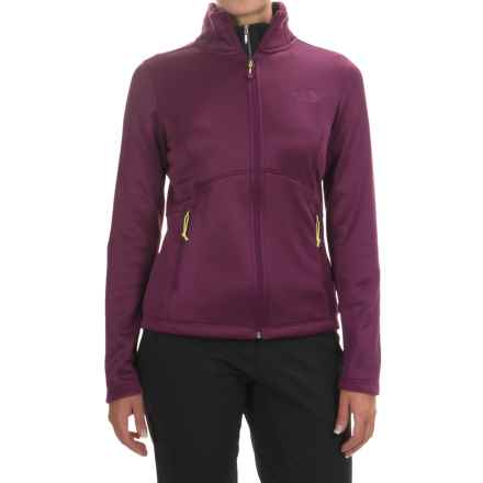 The North Face Agave Fleece Jacket (For Women) in Pamplona Purple Heather - Closeouts