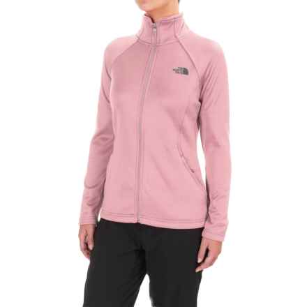The North Face Agave Fleece Jacket (For Women) in Purdy Pink Heather - Closeouts