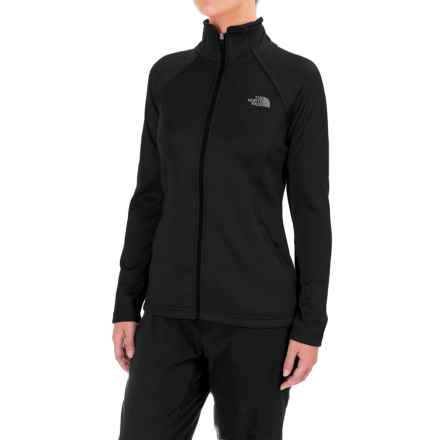 The North Face Agave Fleece Jacket (For Women) in Tnf Black Heather - Closeouts