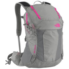 The North Face Aleia 22 Backpack (For Women) in Q-Silver Grey/Glo Pink - Closeouts