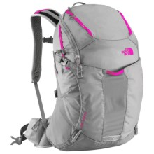The North Face Aleia 32 Backpack (For Women) in Q-Silver Grey/Glo Pink - Closeouts