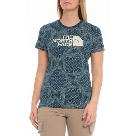 5e2f094658aec The North Face All-Over Crew Shirt - Short Sleeve (For Women) in