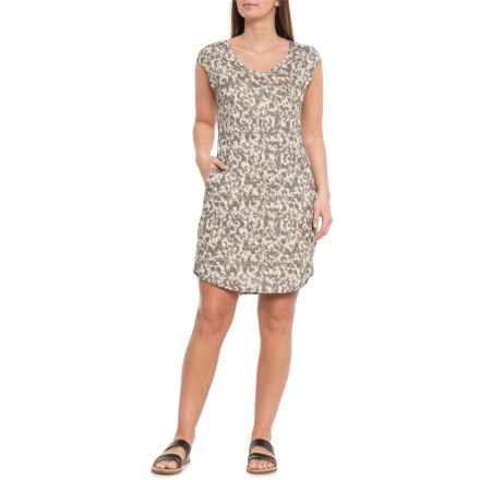 22911b25c98 The North Face AllDaze Dress - Short Sleeve (For Women) in Anchorage Green