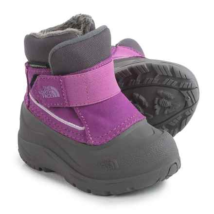 The North Face Alpenglow Snow Boots - Waterproof, Insulated (For Toddlers) in Wisteria Purple/Lupine - Closeouts