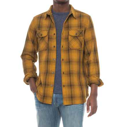 The North Face Alpine Zone Shirt - Long Sleeve (For Men) in Arrowwood Yellow Plaid - Closeouts