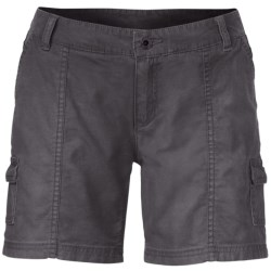 The North Face Amanda Shorts - Stretch Cotton (For Women) in Graphite Grey
