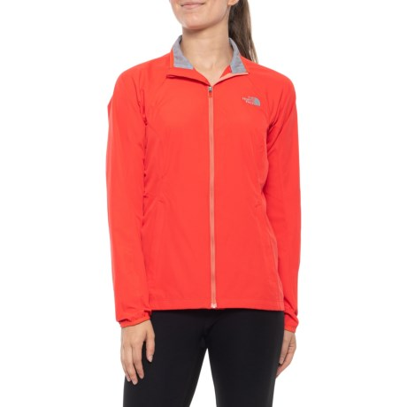 The North Face Women's Ambition Jacket (Juicy Red Heather)